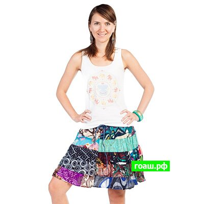 1 Юбка short petch skirt s-6070